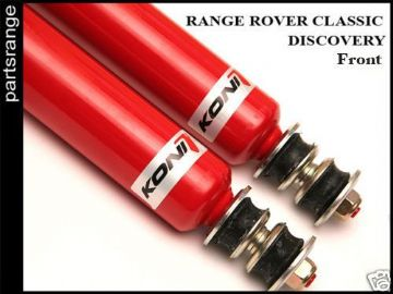 Front Koni Shock Absorbers Land Rover Suspension Disco Classic Performance